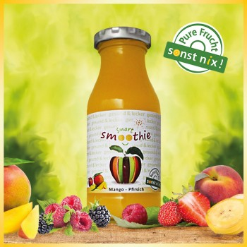 smart smoothie Mango Pfirsich
